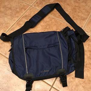 LL Bean messenger bag.